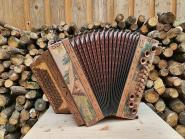 "WoidBua Harmonika ""Olive-Berghütte"" G C F B"