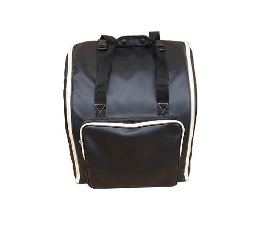 Harmonika Tasche Rucksack DELUXE-PRO-LEDER schwarz für 4-reihige Harmonikas